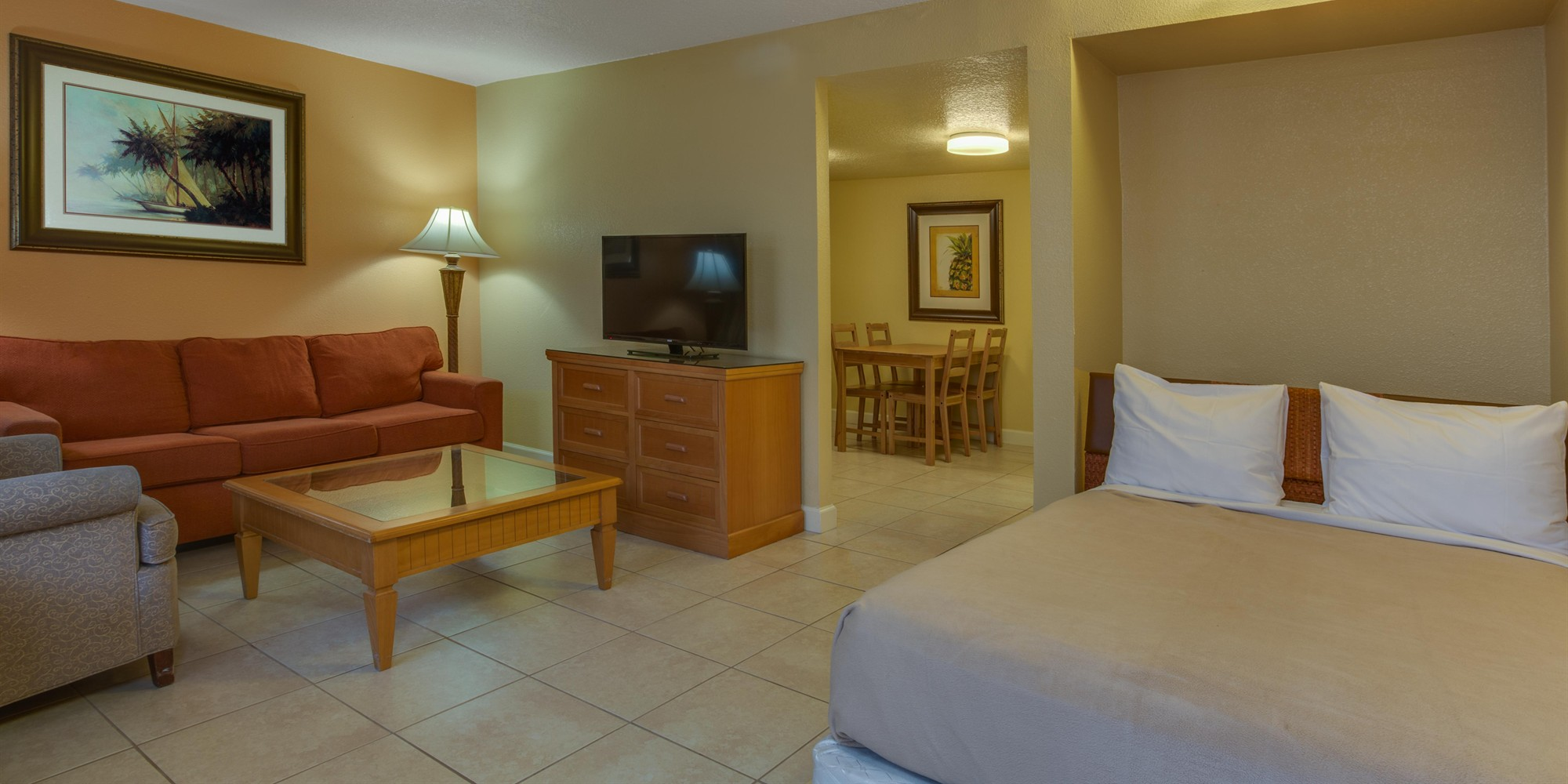 Inside our Affordable Kissimmee Hotel